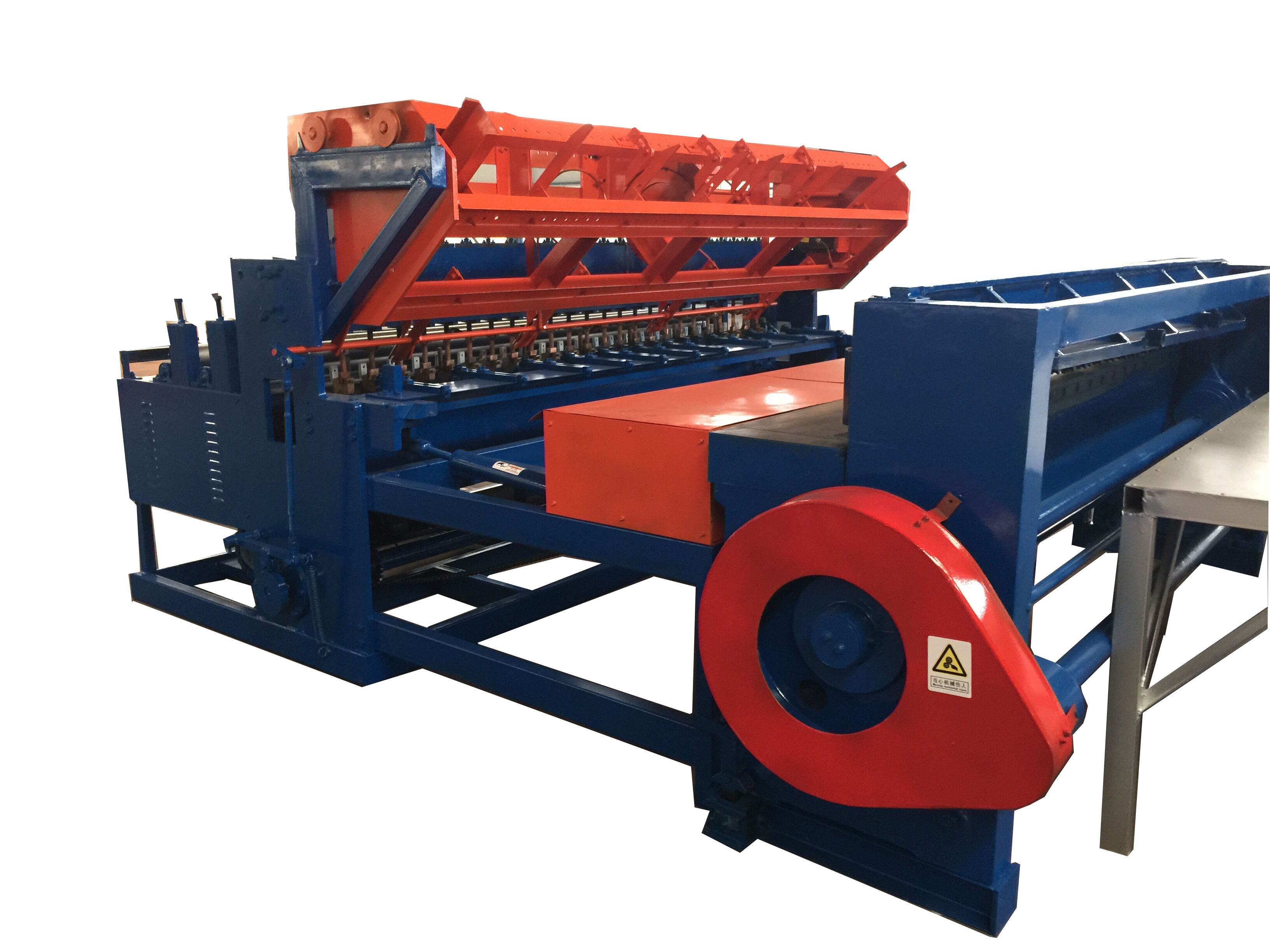 welded panel mesh machine